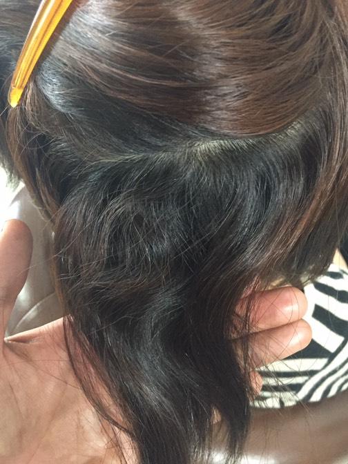 スカスカ・バサバサ毛